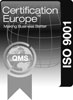 Certification Europe ISO-9001