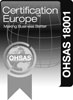 Certification Europe OHSAS-18001