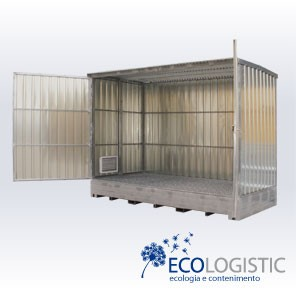 Container acciaio Open Space