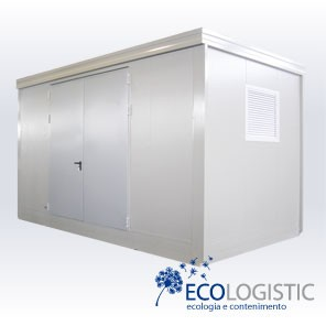 Open Space EI 90 insulated CONTAINER