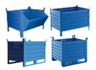 Steel stacking CONTAINERS
