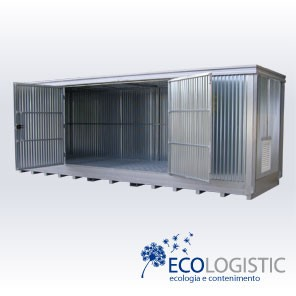 Safety steel CONTAINER Open Space