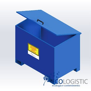 Steel CONTAINERS for waste recycling