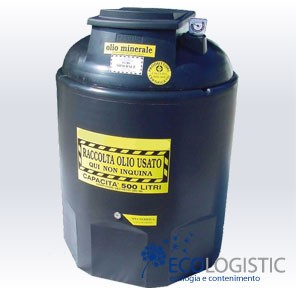 WASTE MINERAL OIL COLLECTION TANKS