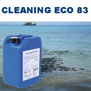 CLEANING ECO 83 _ Dispersant for decontamination of oil polluted sea