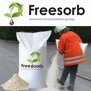 FREE SORB_Mineral based universal sorbent