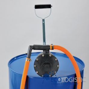 DIAPHRAGM BARREL PUMP for petrol and corrosive chemicals