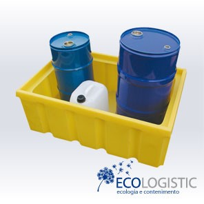 PE Spill TRAYS without grid